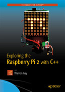 Cover of Exploring the Raspberry Pi 2 with C++