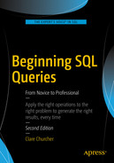 Cover of Beginning SQL Queries From Novice to Professional, Second Edition