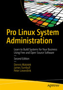 Cover of Pro Linux System Administration: Learn to Build Systems for Your Business Using Free and Open Source Software, Second Edition