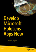 Cover of Develop Microsoft HoloLens Apps Now
