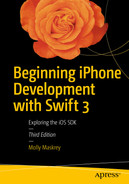 Cover of Beginning iPhone Development with Swift 3: Exploring the iOS SDK, Third Edition