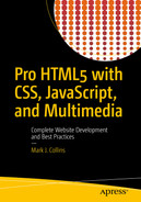 Cover of Pro HTML5 with CSS, JavaScript, and Multimedia: Complete Website Development and Best Practices