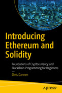 Cover of Introducing Ethereum and Solidity: Foundations of Cryptocurrency and Blockchain Programming for Beginners