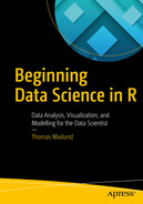 Cover of Beginning Data Science in R: Data Analysis, Visualization, and Modelling for the Data Scientist