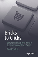 Cover of Bricks to Clicks: Why Some Brands Will Thrive in E-Commerce and Others Won't