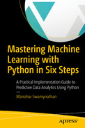 Cover of Mastering Machine Learning with Python in Six Steps: A Practical Implementation Guide to Predictive Data Analytics Using Python