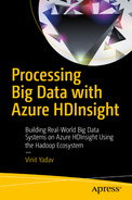 Cover of Processing Big Data with Azure HDInsight: Building Real-World Big Data Systems on Azure HDInsight Using the Hadoop Ecosystem