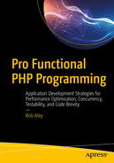 Cover of Pro Functional PHP Programming: Application Development Strategies for Performance Optimization, Concurrency, Testability, and Code Brevity