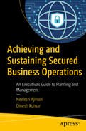 Cover of Achieving and Sustaining Secured Business Operations: An Executive's Guide to Planning and Management
