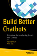 Cover of Build Better Chatbots: A Complete Guide to Getting Started with Chatbots