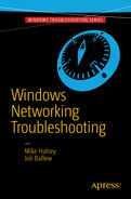 Cover of Windows Networking Troubleshooting