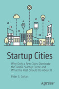 Cover of Startup Cities: Why Only a Few Cities Dominate the Global Startup Scene and What the Rest Should Do About It