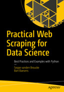 Cover of Practical Web Scraping for Data Science: Best Practices and Examples with Python
