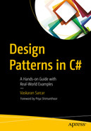 Cover of Design Patterns in C#: A Hands-on Guide with Real-World Examples