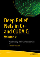 Cover of Deep Belief Nets in C++ and CUDA C: Volume 2: Autoencoding in the Complex Domain