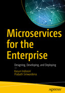 Cover of Microservices for the Enterprise: Designing, Developing, and Deploying