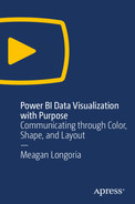 Power BI Data Visualization with Purpose: Communicating through Color, Shape, and Layout