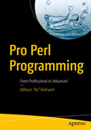 Pro Perl Programming: From Professional to Advanced