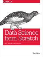 Cover of Data Science from Scratch