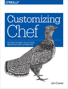 Cover image for Customizing Chef