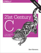 Cover of 21st Century C, 2nd Edition