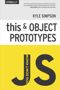 Cover of You Don't Know JS: this & Object Prototypes