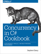 Cover of Concurrency in C# Cookbook