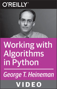 Cover image for Working with Algorithms in Python