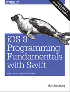 Book cover for iOS 8 Programming Fundamentals with Swift