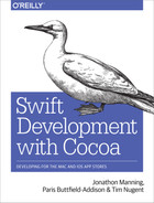 Cover of Swift Development with Cocoa