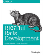 Cover of RESTful Rails Development