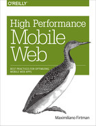 Cover of High Performance Mobile Web