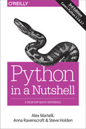 Cover of Python in a Nutshell, 3rd Edition