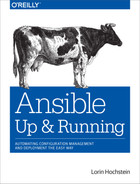 Cover of Ansible: Up and Running