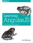 Cover of Learning AngularJS