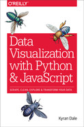 Cover of Data Visualization with Python and JavaScript