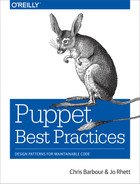 Book cover for Puppet Best Practices