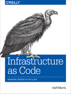 Cover of Infrastructure as Code