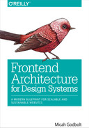 Cover of Frontend Architecture for Design Systems