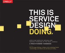 Book cover for This Is Service Design Doing