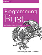 Cover of Programming Rust