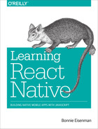 Cover of Learning React Native