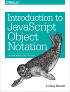 Cover of Introduction to JavaScript Object Notation