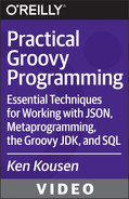 Book cover for Practical Groovy Programming