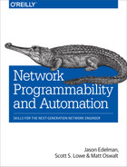 Cover of Network Programmability and Automation