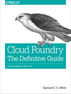 Cover of Getting Started with Cloud Foundry