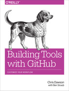 Cover of Building Tools with GitHub