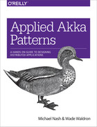 Cover of Applied Akka Patterns