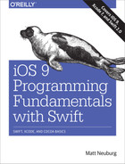 Cover of iOS 9 Programming Fundamentals with Swift