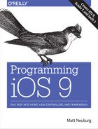 Cover of Programming iOS 9